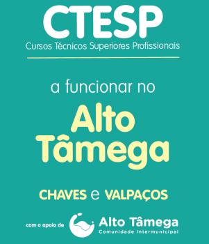 Ilustração da oferta de CTeSP que o IPB vai oferecer no Alto Tâmega
