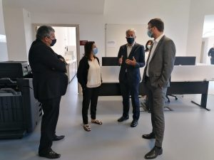 Presidentes da CCDR-N e da AD&C visitaram as Instalações do Aquavalor